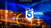 KTLA 5 News 11PM open - Late 2016