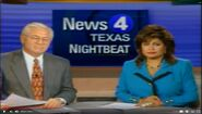 KDFW News 4 Nightbeat - Return bumper - June 17 1994