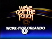CBS-TV's We've Got The Touch With WCPX-TV Orlando Byline - Late 1983