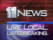 WBAL-TV's 11 News Video Open From 1996