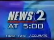 WKRN News 2 5PM open - Late September 2000