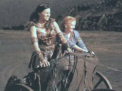 Xena and Gabrielle Chariots