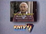 KNTV-TV's Too Close For Comfort Video ID For Tuesday Evening, September 17, 1985