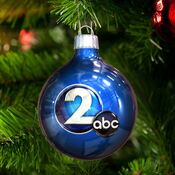 WKRN Channel 2 - Happy Holidays promo - Mid-December 2014