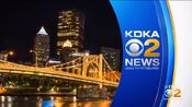 KDKA-TV News 11PM open - Late August 2016