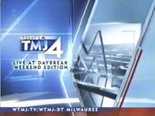 WTMJ-TV's Today's TMJ 4 Live At Daybreak, Weekend Edition Video Open From July 2006