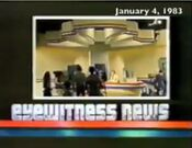 WFSB Channel 3 Eyewitness News Nightbeat open - January 4, 1983