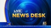 KPIX 5 News - Live News Desk open - Mid-Late Fall 2019