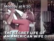 WABC Channel 7 - The Secret Life Of An American Wife - Monday promo for January 12, 1981