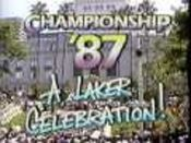 KHJ-TV';s+Channel+9+News+Presents,+Championship+';87,+A+Laker+Celebration!+Video+Open+-+June+1987