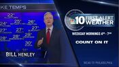 WCAUNBC10NewsToday FirstAlertWeather with BillHenleyIdent Spring2017