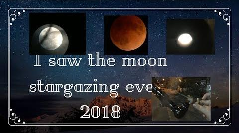 Lps Storytime I saw the moon and lunar eclipse!
