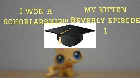Lps My Kitten Beverly Episode 1 I won a scholarship