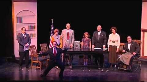 "Highland Park Players ""Annie"" Tomorrow (cabinet reprise)-1"