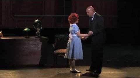 SOMETHING WAS MISSING from ANNIE. ITL Award winner John George Campbell as DADDY WARBUCKS-1