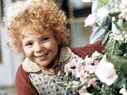 Annie & flowers