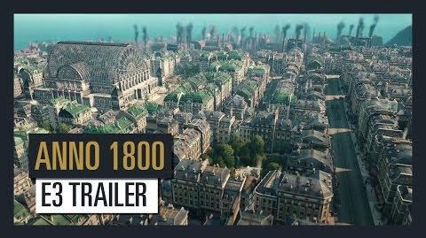 ANNO 1800 - E3 TRAILER Ubisoft DE