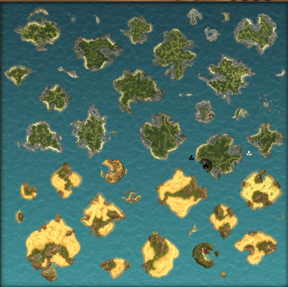 Anno Venice Map With Few Islands