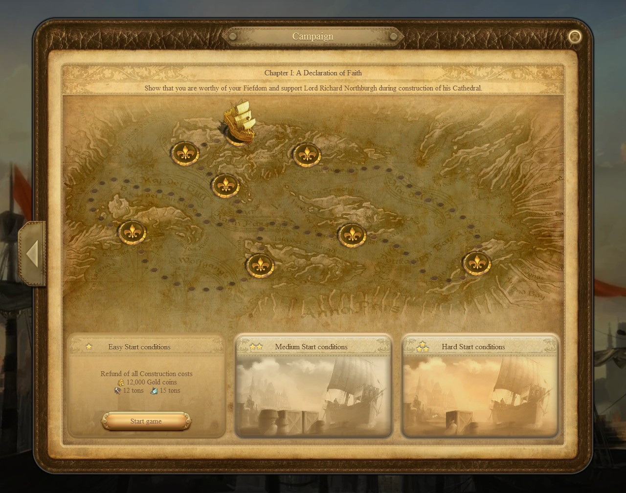 Campaign guide anno 1404 wiki fandom powered by wikia anno 1404 campaignmap gumiabroncs Image collections