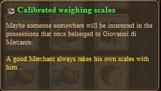 Calibrated weighing scales