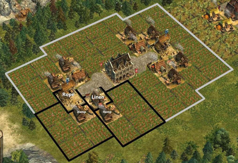 Anno 1404 Efficient Building Layouts.Image Linen Rope Loop Jpg Anno 1404 Wiki Fandom Powered By Wikia
