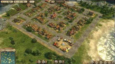 Anno 1404. Asentamiento