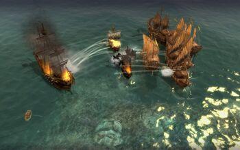 Sea fight