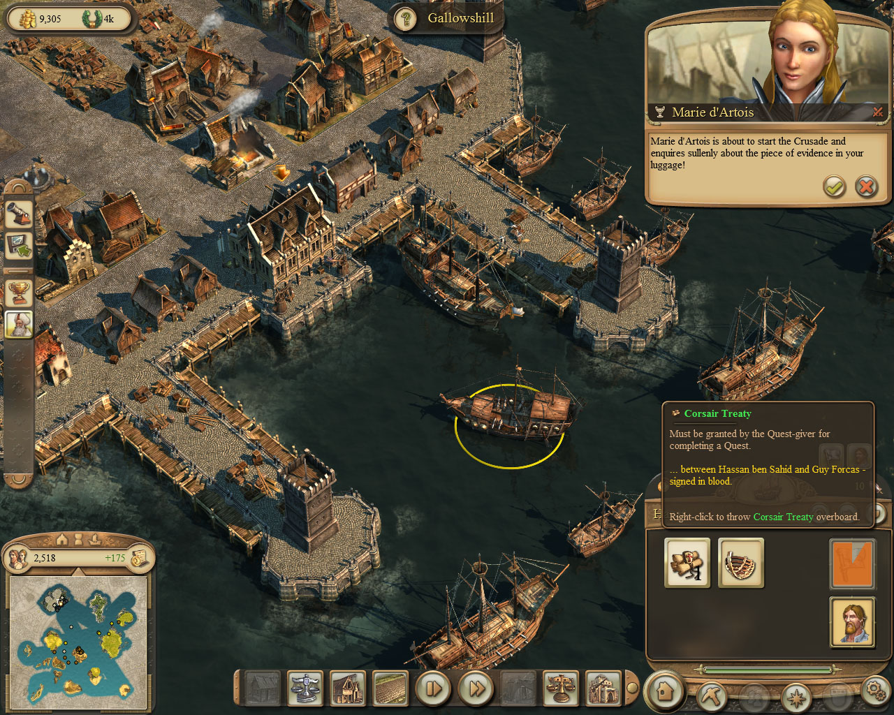 Image anno 1404 campaign chapter5 marie corsair treaty delivery anno 1404 campaign chapter5 marie corsair treaty deliveryg gumiabroncs Image collections