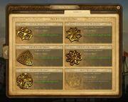 Anno 1404-medals scenarios