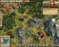 Anno 1404-campaign chapter5 hilarius buying goods from