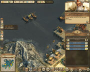 Anno 1404-campaign chapter5 zahir three warships complete