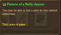 Picture of a belly dancer
