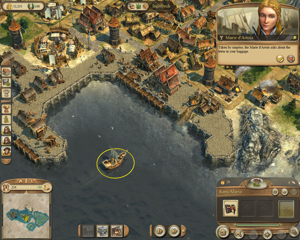 Image anno 1404 campaign chapter2 marie delivering letterg other resolutions 300 240 pixels 750 600 pixels gumiabroncs Image collections