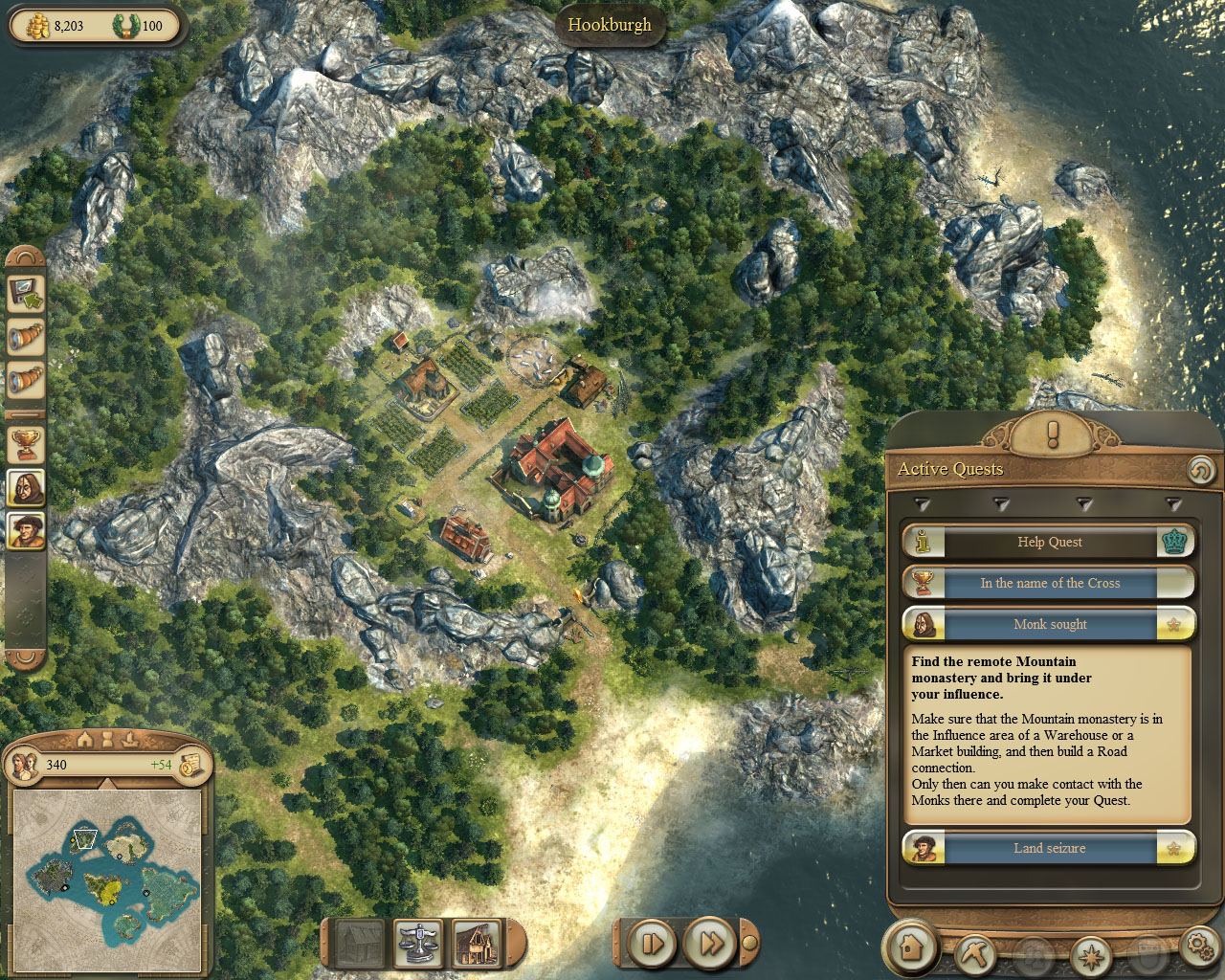 In the sign of the cross anno 1404 wiki fandom powered by wikia gumiabroncs Image collections