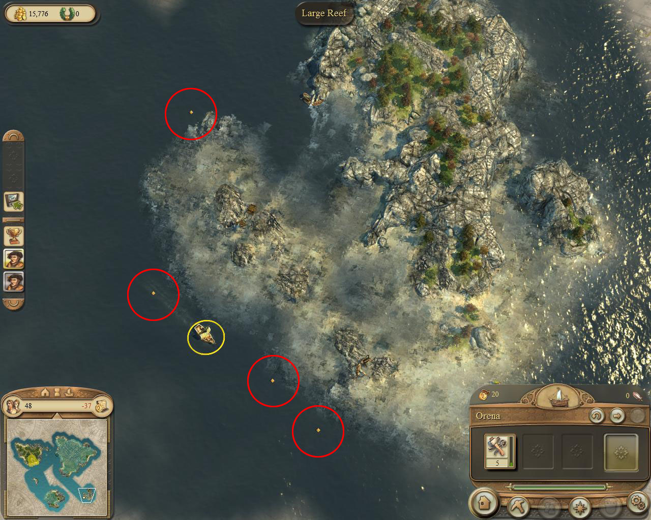 Image anno 1404 campaign chapter1 four flotsam by island to map anno 1404 campaign chapter1 four flotsam by island to mapg gumiabroncs Image collections