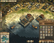 Anno 1404-campaign chapter3 sacral four storehouses