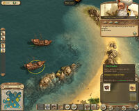 Anno 1404-campaign chapter5 reef attack 03