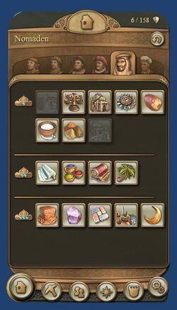 Building menu
