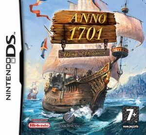 Anno 1701 Dawn of Discovery cover