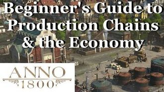 Anno 1800 Beginner's Guide to Production Chains and the Economy