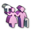 Icon permanent visa