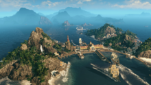 ANNO screen GC South America Island
