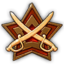 Icon buff military gold 0