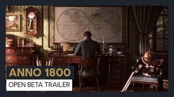 ANNO 1800 OPEN BETA TRAILER