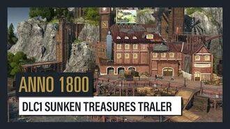 ANNO 1800 DLC1 Sunken Treasure Trailer