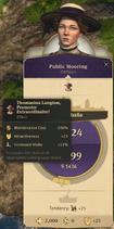 Public Mooring Items Affecting