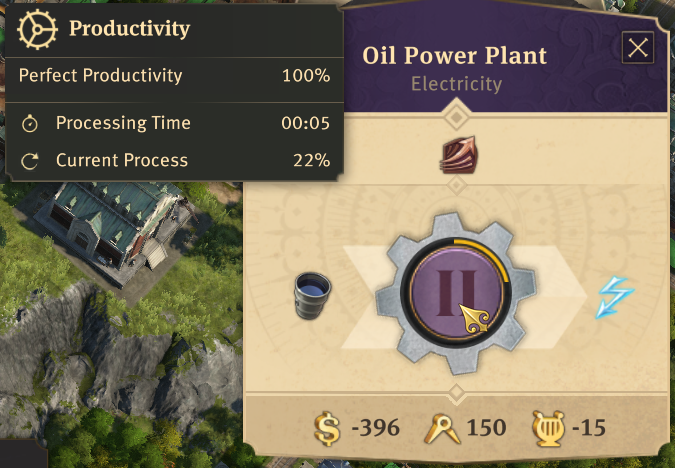 Guide: Calculating oil production, usage, and transportation | Anno