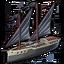 Pirate gunboat