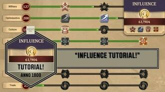 """Anno1800 - """"Influence Tutorial!"""""""