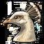 Icon albino peacock 0